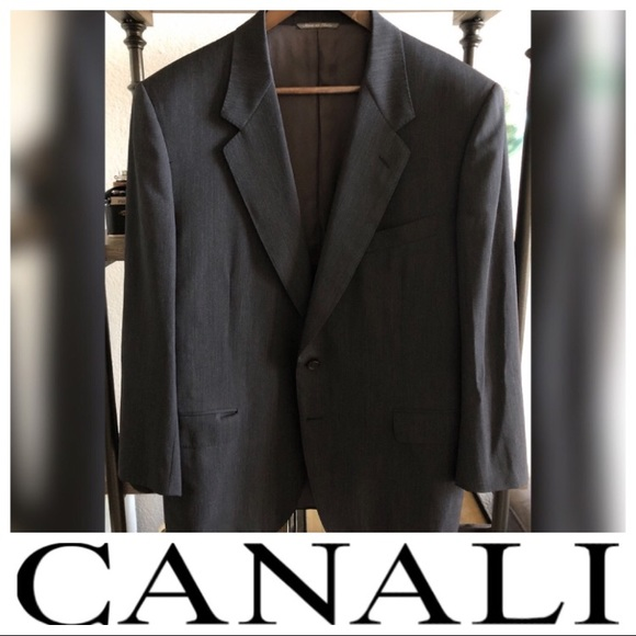 Canali Other - Canali Blazer - Made in Italy - Charcoal Gray
